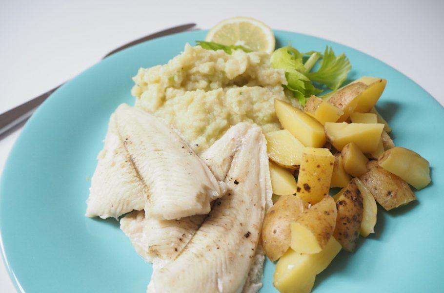 goodblog: Olivenöl zum Fisch und Selleriepüree